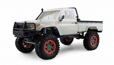 AMXRock RCX10B Scale Crawler Pick-Up 1:10, RTR weiss