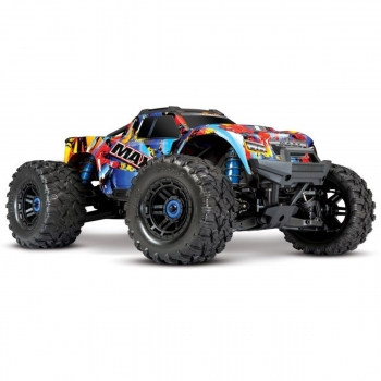MAXX 1:10 RTR TSM SR VXL-4S Regler ohne Akku/Lader 1/10 Monster-Truck Brushless Rock 'N Roll